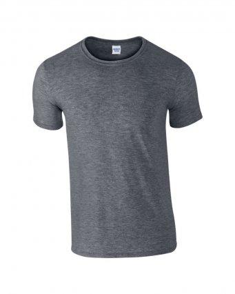 basic t shirt dark heather