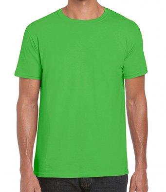 basic t shirt electric green