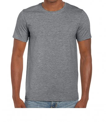 basic t shirt graphite heather