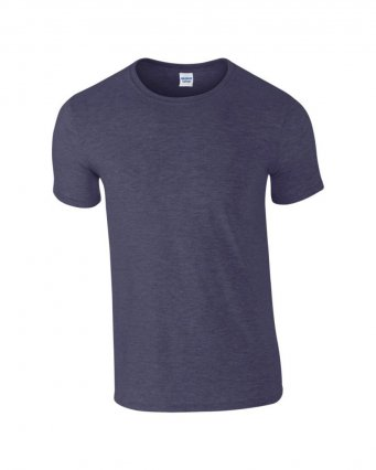 basic t shirt heather navy