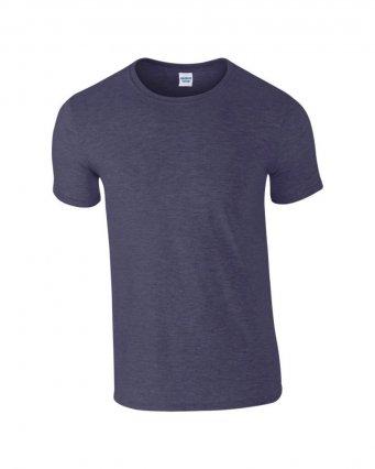 basic t shirt heather navy
