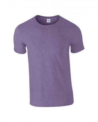 basic t shirt heather purple