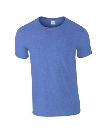 basic t shirt heather royal