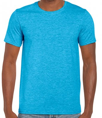 basic t shirt heather sapphire