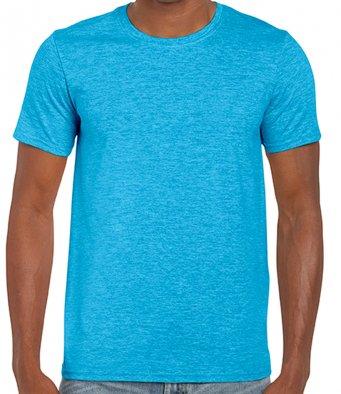 basic t shirt heather sapphire