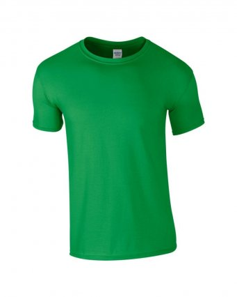 basic t shirt irish green