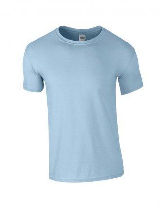 basic t shirt light blue