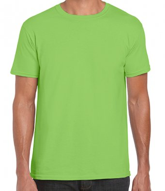 basic t shirt lime