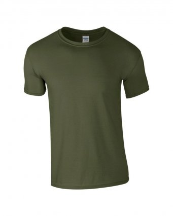 basic t shirt military green