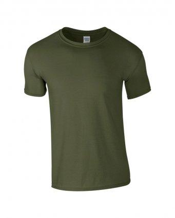 basic t shirt military green