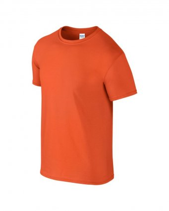 basic t shirt orange