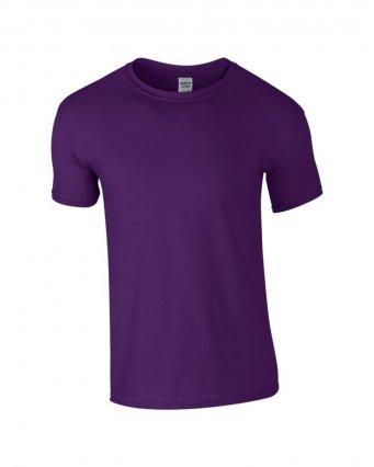 basic t shirt purple