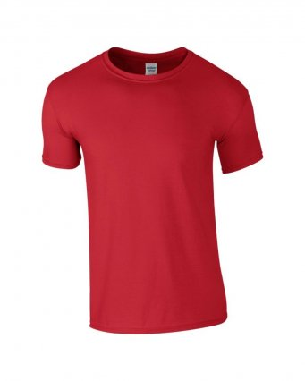basic t shirt red