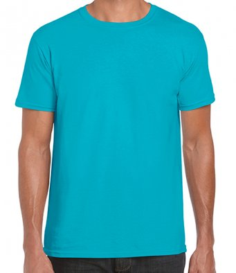 basic t shirt tropical blue