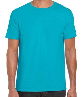 basic t shirt tropical blue