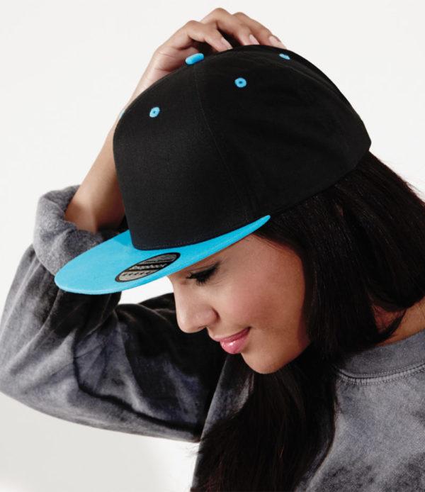 bb610c cotton snapback rapper cap