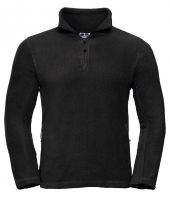 black 34 zip fleece jacket