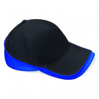 black bright royal teamwear caps