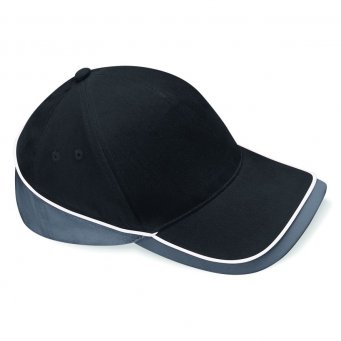 black graphite white teamwear caps