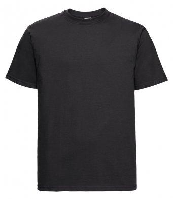 black heavyweight cotton t shirt