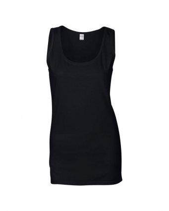 black ladies tank top