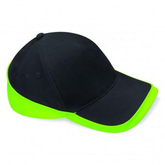 black lime teamwear caps