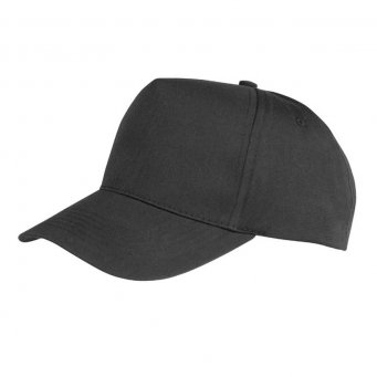 black promotional caps