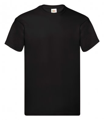black promotional t shirt