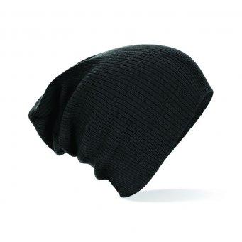 black slouch beanie