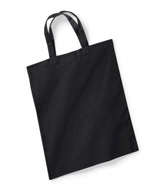 black tote bag short handles
