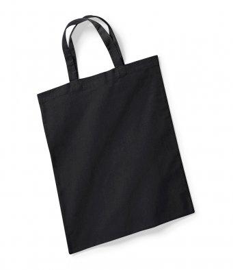 black tote bag short handles