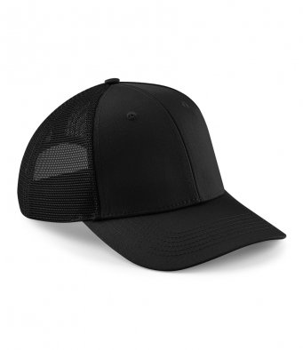 black trucker caps