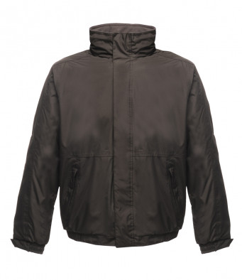 bomber work jacket black ash