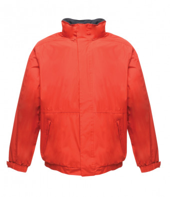 bomber work jacket classic red navy