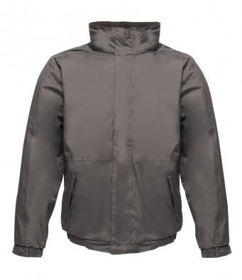 bomber work jacket seal grey black