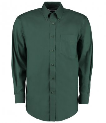 bottle long sleeve oxford shirt