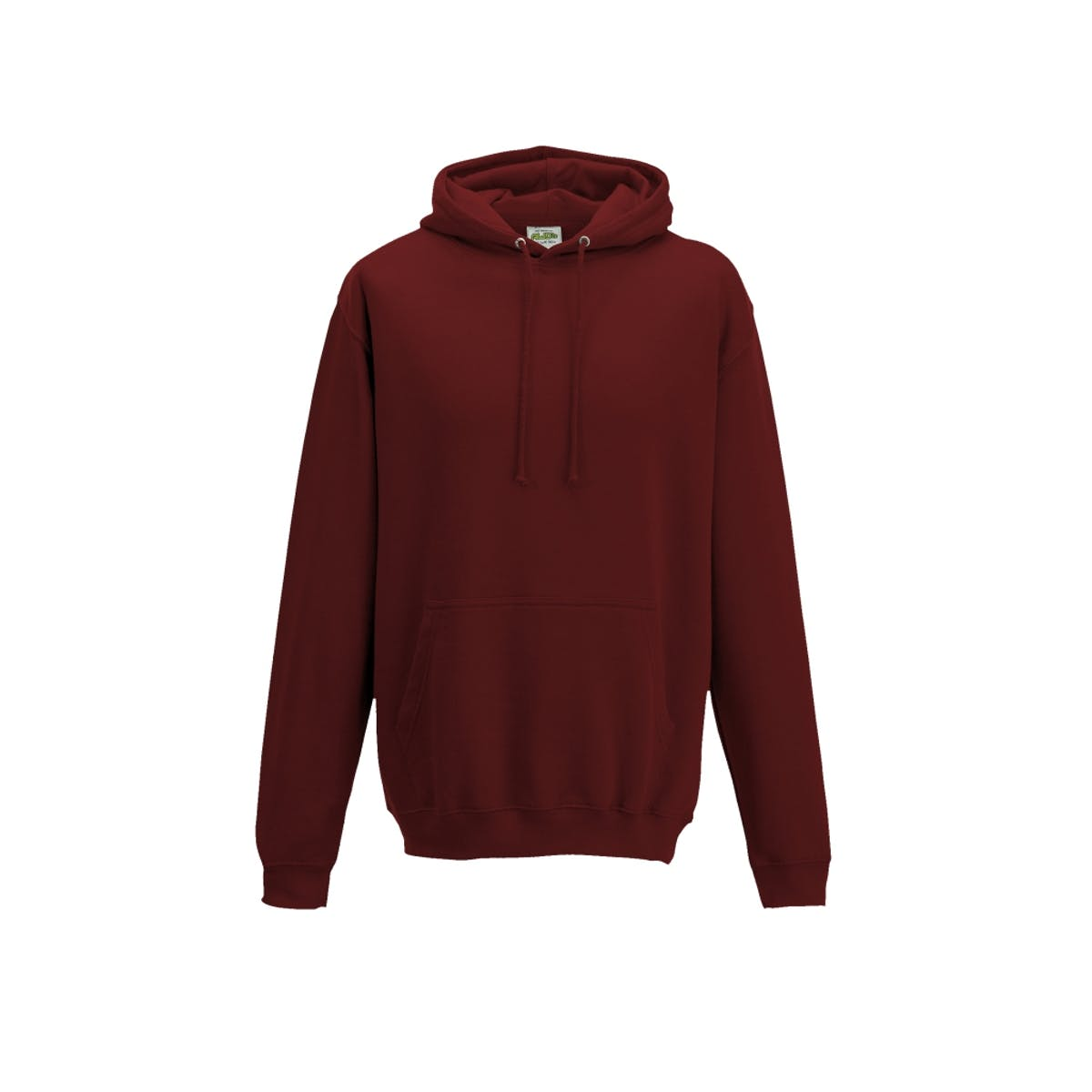 brick red overhead college hoodies