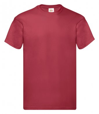 brick red promotional t shirt