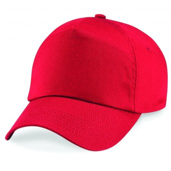 bright red classic cap