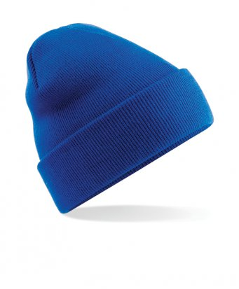 bright royal cuffed beanie