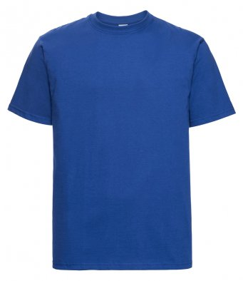 bright royal heavyweight cotton t shirt