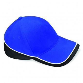 brightroyal black white teamwear caps