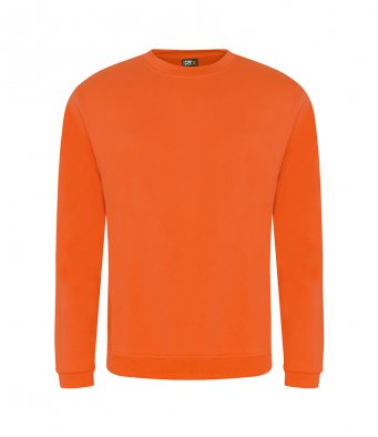 budget sweatshirt orange
