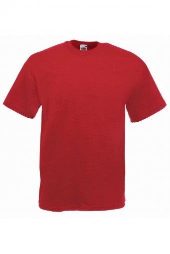 budget t shirt brick red