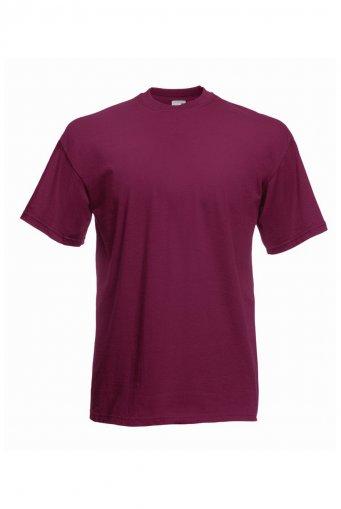 budget t shirt burgundy