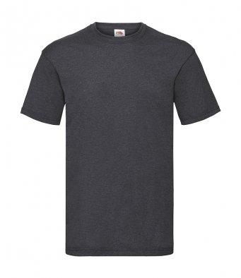 budget t shirt dark heather