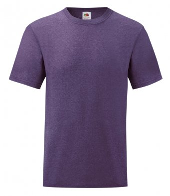 budget t shirt heather purple