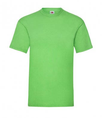 budget t shirt lime