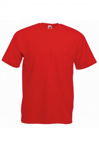 budget t shirt red