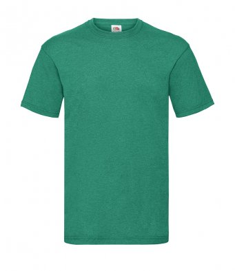 budget t shirt retro heather green